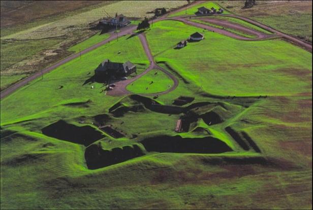 Site actuel du fort de Beauséjour